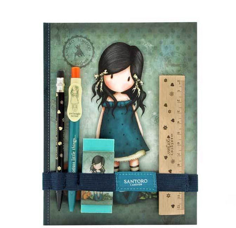 Gorjuss Notebook & Stationary Set - YBML 6198