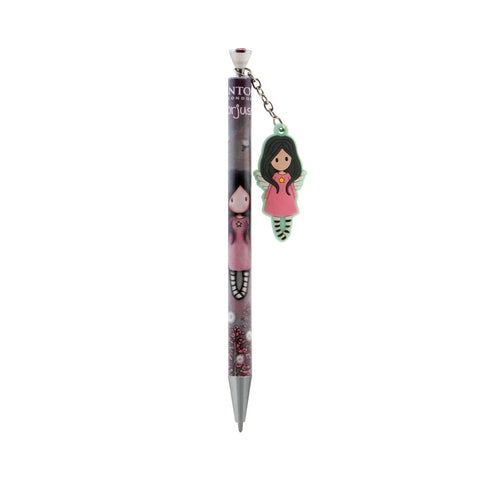 Gorjuss Little Wings - Pen with Rubber Dangler 9636
