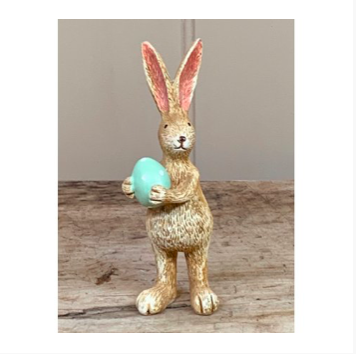 Standing Rabbit with Green Egg 10850