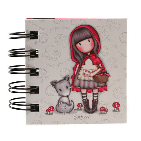Gorjuss Sticky Notes Book - Little Ridding Hood 7514
