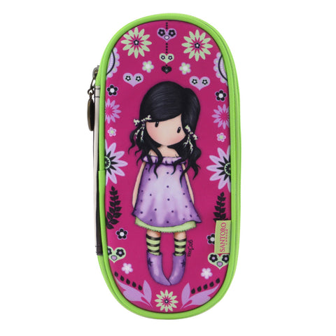 Gorjuss Fiesta Zip Around Pencil Case - You Bought me Love 8689