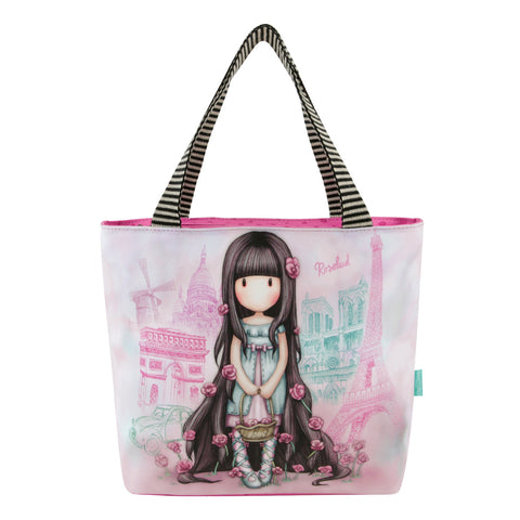 Gorjuss Cityscape Lunch Bag - Rosebud 7568