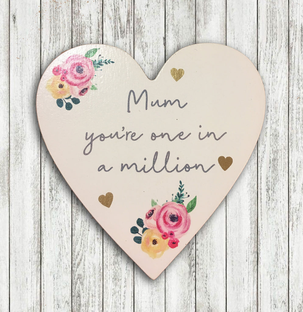 Mum Coaster - Mum You're One in a Million 8676