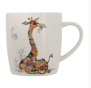 Bug Art Mug in a Gift Box - Giraffe 10243