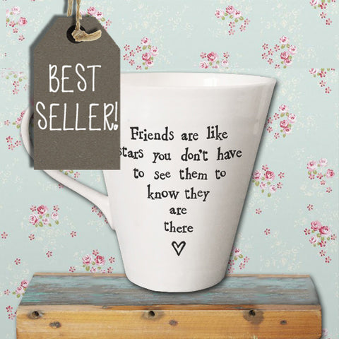 Porcelain Mug - Friends Are Like Stars 2211