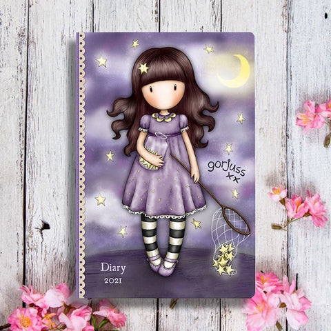 Gorjuss Pocket Diary - Catch a Falling Star 10498