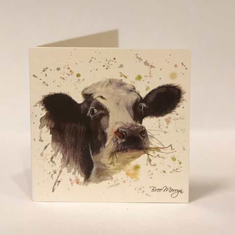 Bree Merryn Greetings Card - Cow 9484