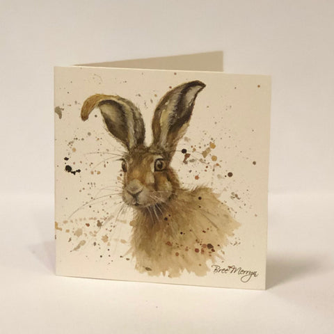 Bree Merryn Greetings Card - Hare 9482