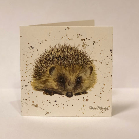 Bree Merryn Greetings Card - Hedgehog 9481