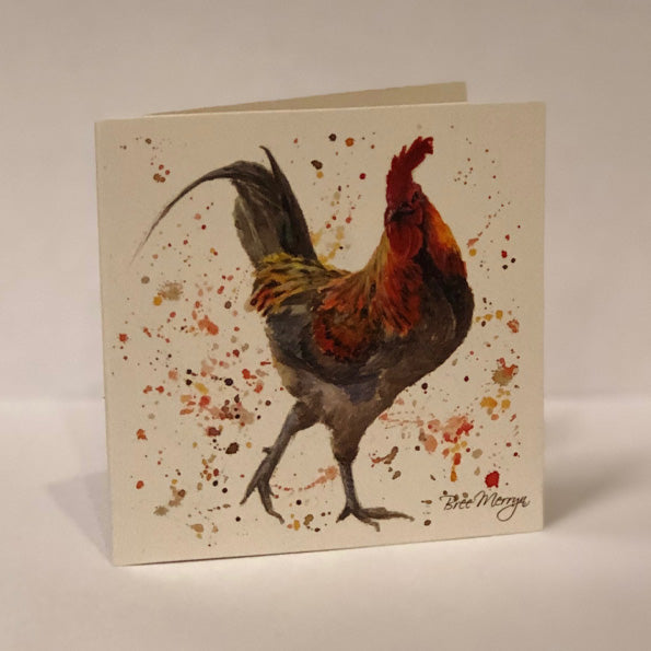 Bree Merryn Greetings Card - Hen 9486
