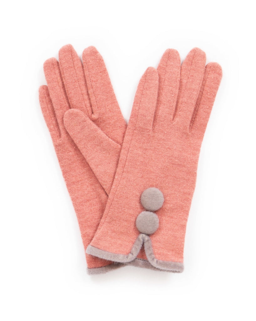 Powder Wool Gloves - Christabel in Candy 9198