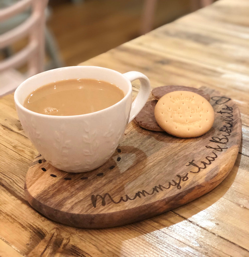Personalised Biscuit & Tea Board 9530