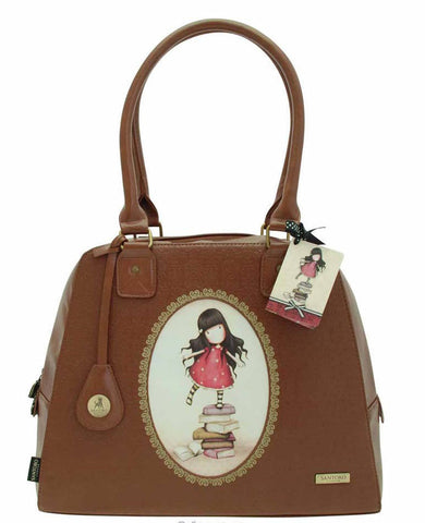 Gorjuss embossed Rococo Lg Handbag - New Heights 3767