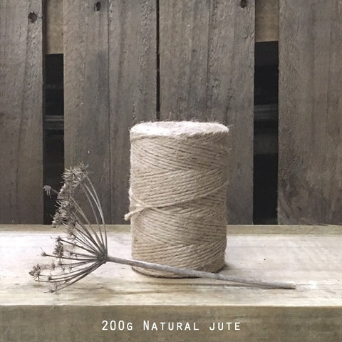 Hessian String - Natural Jute Spool 200g 10562