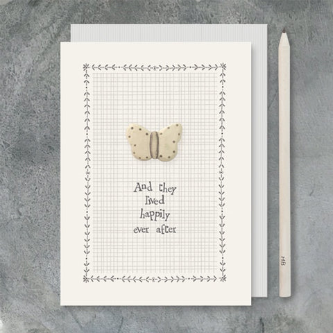 Dreamy Greetings Card - Happily Ever After 6624
