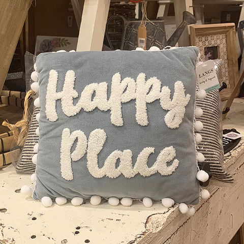 Happy Place Cushion 10667