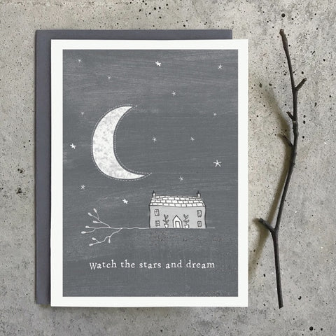 Greetings Twig Card - Watch the Stars and Dream 10341