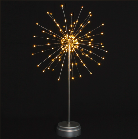 Table Starburst Silver 30cm 8345