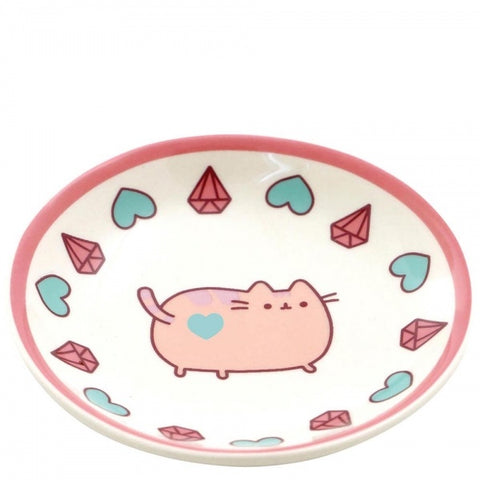 Pusheen - pink ring dish 7117