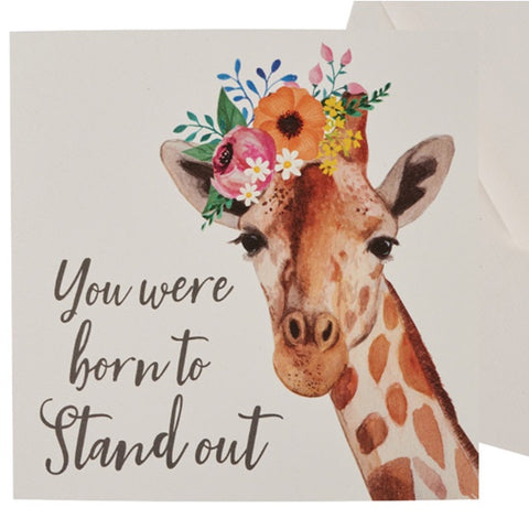 Greetings Card - Born to Stand Out 9742
