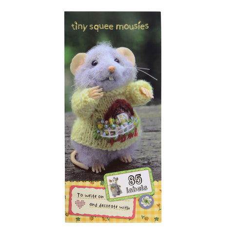 Tiny Squee Mousies Label Folder - Little Hug 9514