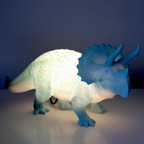 Disaster Triceratops Turquoise Light 9417