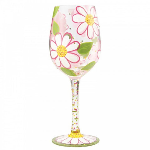 Wine Glass - Oops I Daisied Again 9506