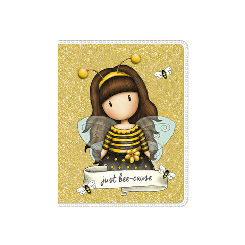 Mini Glitter Notebook - Bee-Loved 9526