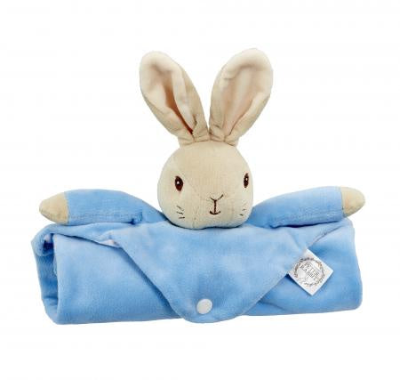 Beatrix Potter Peter Rabbit Snuggle Blanket 9577