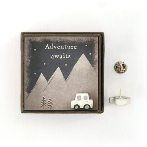 Lapel Pin - Adventure Begins 7887