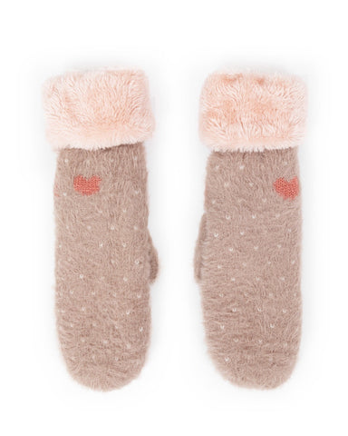 Powder Mittens - Cosy Polly in Stone 9195