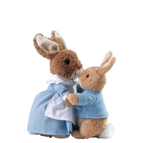 Mrs Rabbit & Peter Rabbit Soft Toy Set 7617