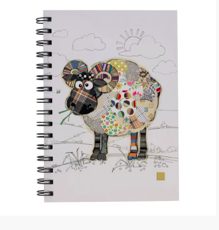 Bug Art Notebook - Ram 10248