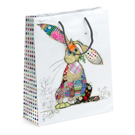 Bug Art Large Gift Bag - Binky Bunny 10839