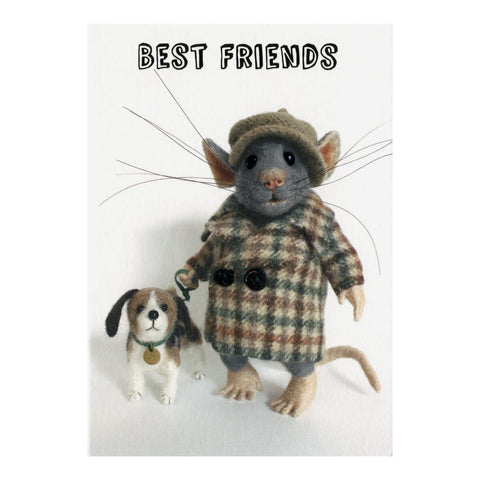 Tiny Squee Mousies Card - Best Friends 8124