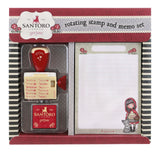 Gorjuss Rotating Stamp & Memo Pad Set - Little Red Riding Hood 8471