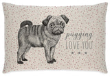 Long Cushion - Pug 5673