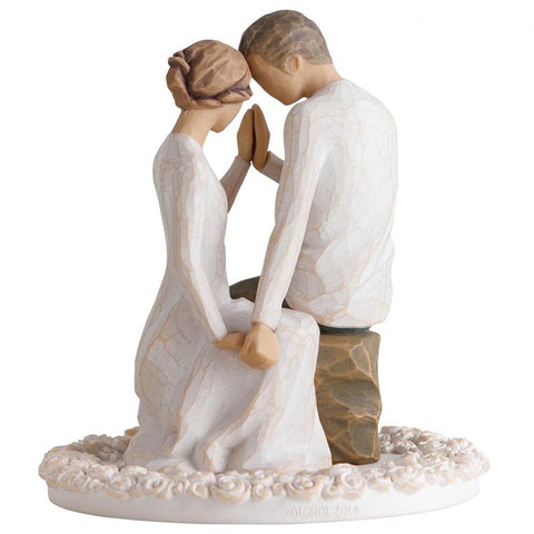 Willow Tree Cake Topper Around You 4794