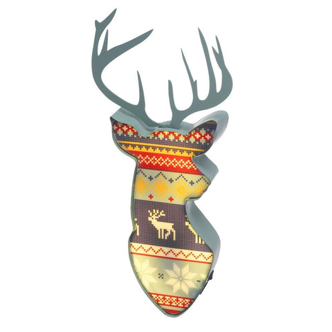 Reindeer Wall Decoration with LED 1481