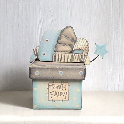 Fairy Tooth Box - Blue 345