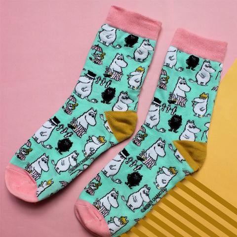 Disaster Moomin Socks - Family Print 9408