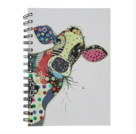 Bug Art A5 Notebook - Connie Cow 10837