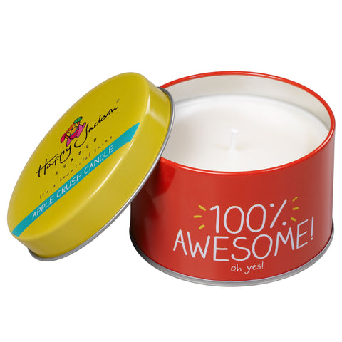 Happy Jackson Candle - 100% Awesome 1865