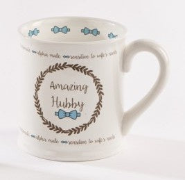Groom Mug - Amazing Hubby 7452