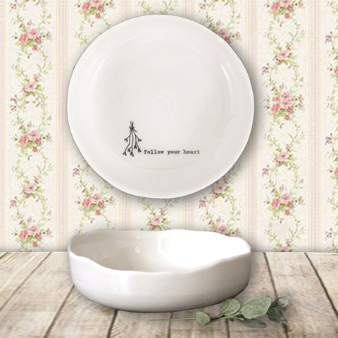Trinket Dish - Follow Your Heart 10220