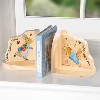 Beatrix Potter Wooden Bookends 5771