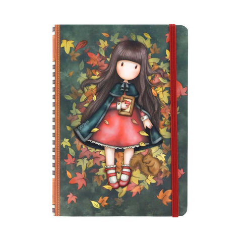 Gorjuss Autumn Leaves - Hardcover Notebook 9671