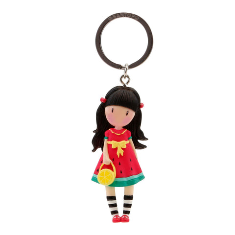 Gorjuss Keyring - Every Summer has a Story 7581