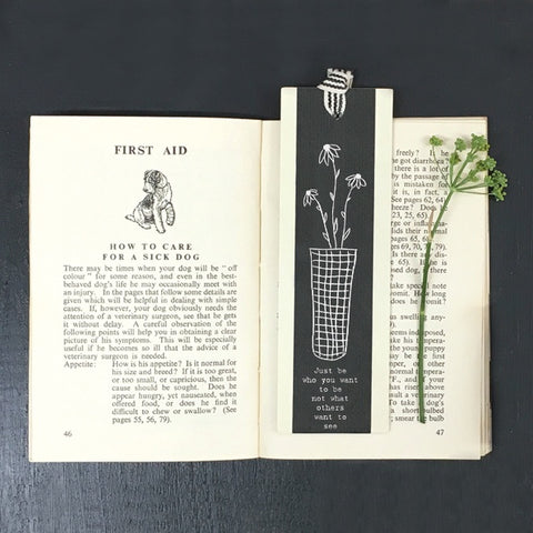 Bookmark - Just Be Who You Want To Be 9621