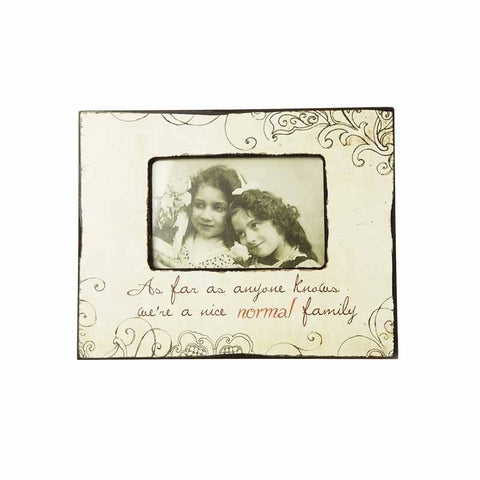 Photo Frame - Nice Normal Family 1581